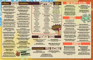 dirty franks hot dog palace full menu page 2