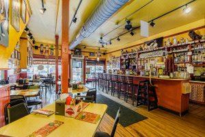 Dirty Franks Hot Dog Restaurant Interior