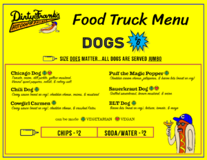 Dirty Franks Food Truck